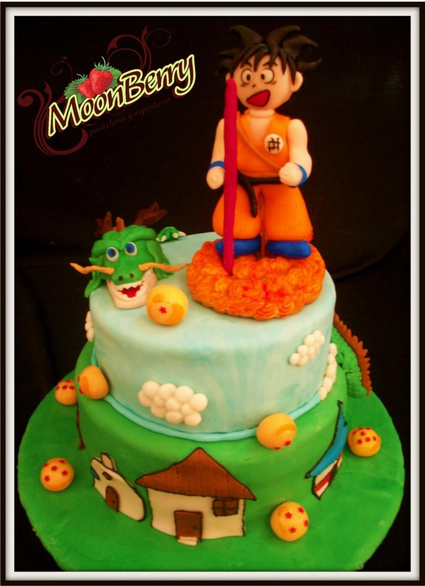 Dragon City Cake