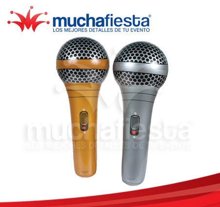 Microfono Retro Grande Inflable